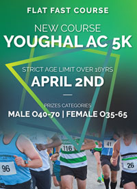 1st evening race in Cork - Thurs 2nd Apr 2020