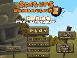 Jugar Spiters Annihilation 2