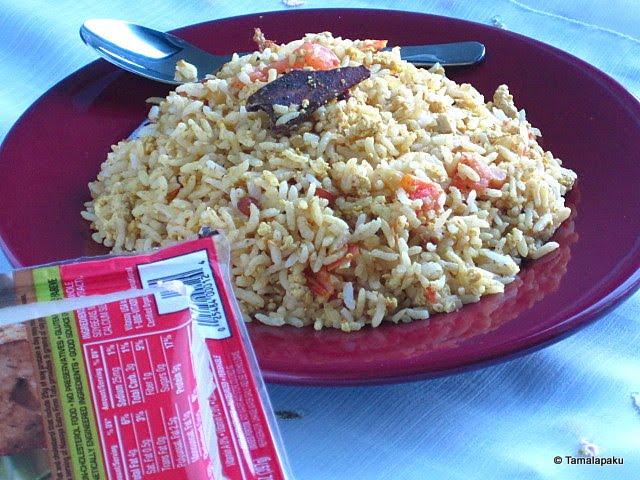 Scrambled Tofu Rice