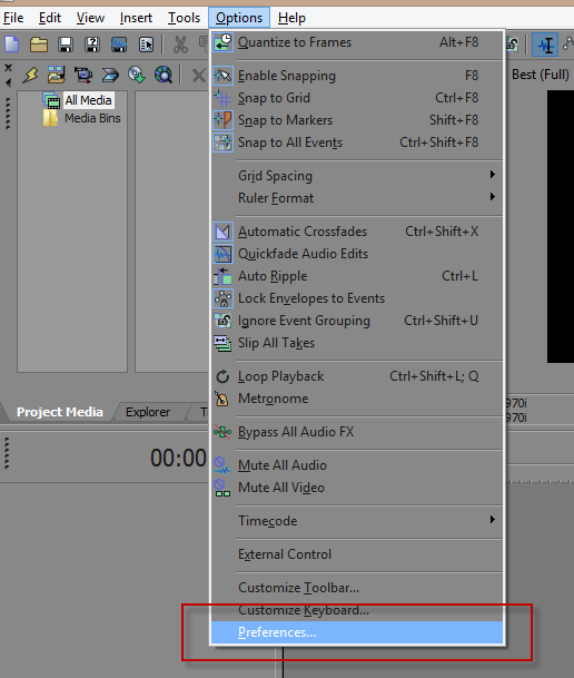 sony vegas pro how to appear more tan