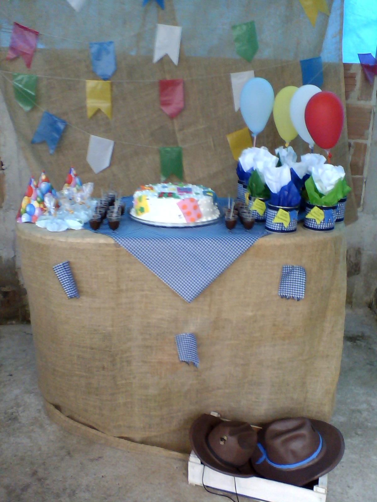 decoracao festa caipira: multiplicando conhecimento: Festa infantil Caipira Provençal