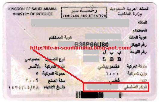Procedure to Transfer Vehicle Ownership in Saudi Arabia  Life in