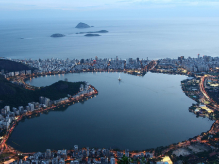 Rio turismo Lagoa Rodrigo de Freitas