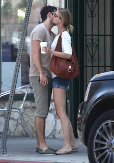 Emily VanCamp and Josh Bowman Share a Kiss on the street