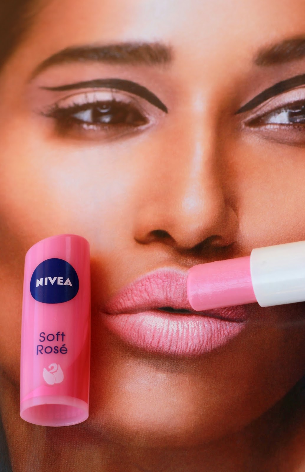 I Am Bummed After Using This Lip Balm! - Review of Nivea Lip balm in Soft Rose