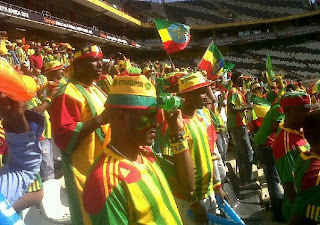 Ethiopian Fans South Africa