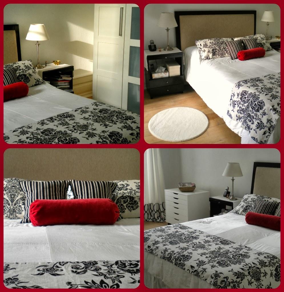 Crear un dormitorio blanco y negro f cil y pr ctico for Diseno de dormitorio blanco