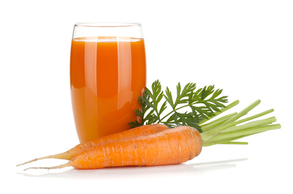 carrot juice to burn fat