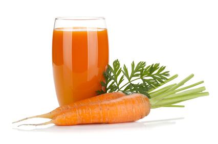 carrot juice to burn fat