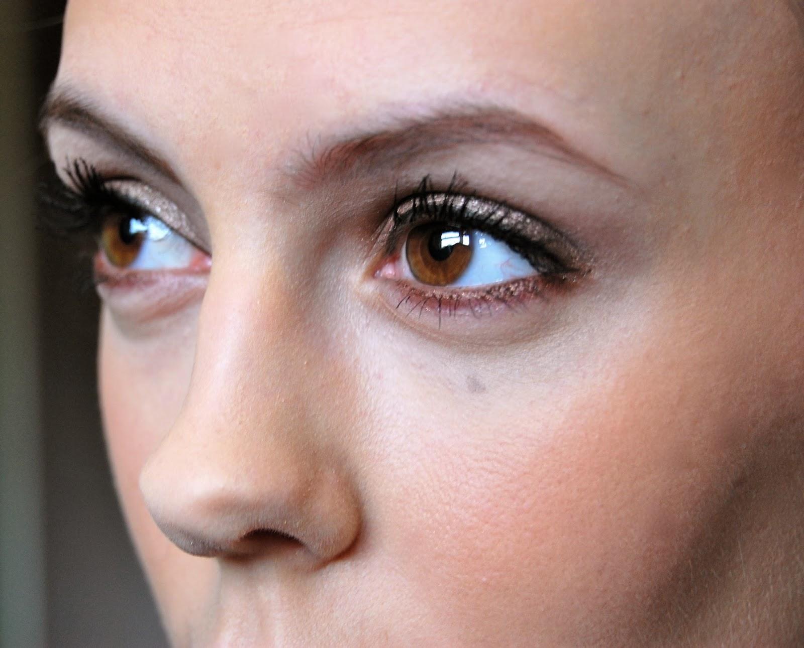 Girl in the Wardrobe : Shimmery Brown Smokey Eye Tutorial