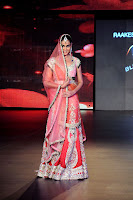 Bollywood and Tollywood acress Cute,hot, sexy,  Genelia, d'souza, blenders pride fashion tour 2011,lehenga choli, bridal look