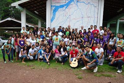 Encontro da JM em Abaetetuba/PA reúne 90 jovens