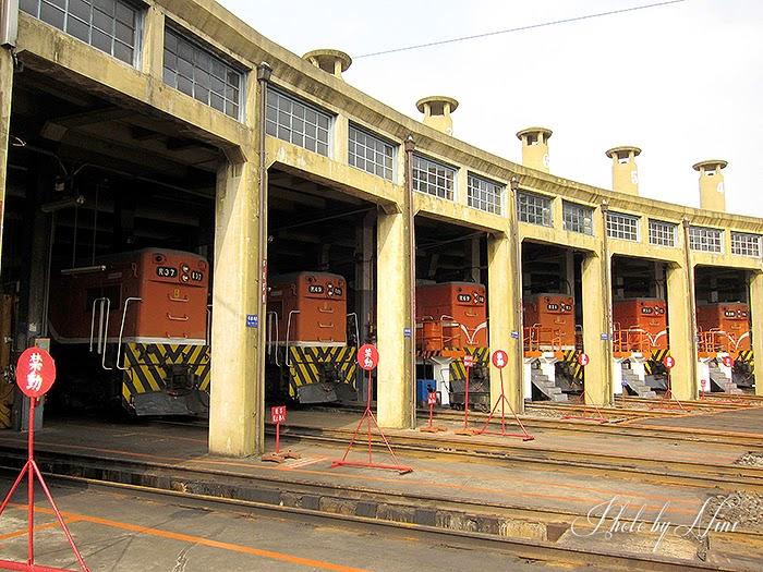 【彰化景點】扇形車站。全台唯一保留的扇形車庫