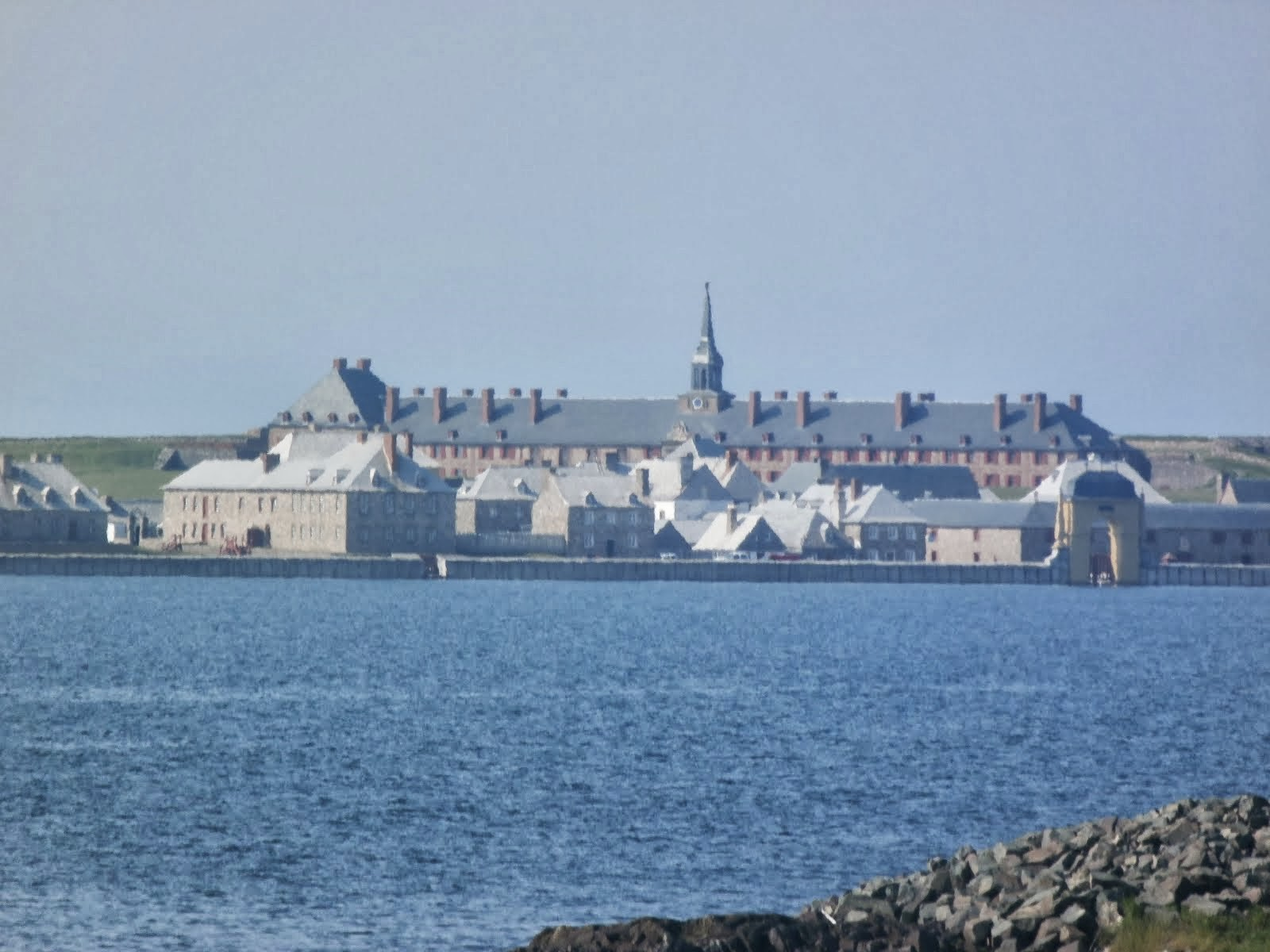 Fortress Louisbourg in the Morning Mist
