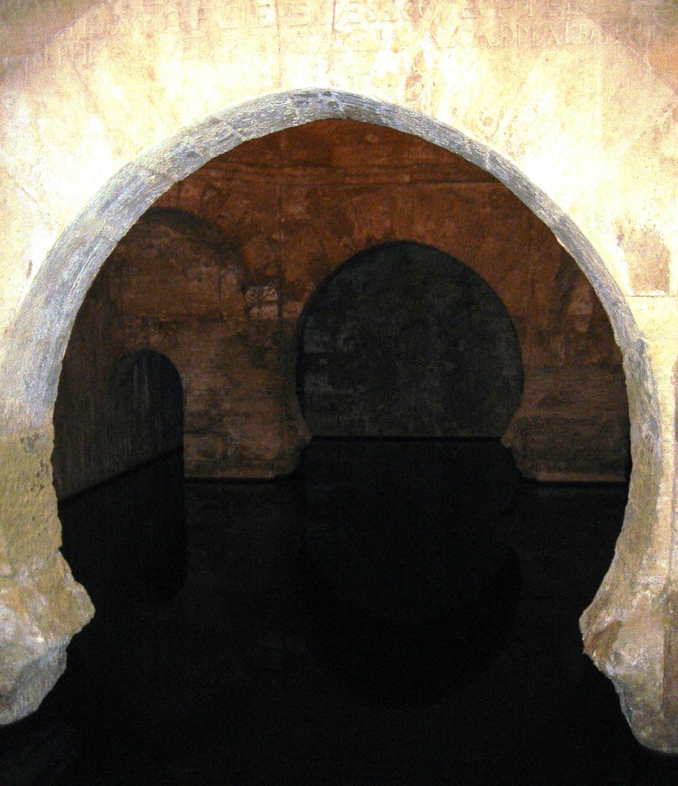 Baños Romanos Granada:Baños romanos de Alhama de Granada, rehechos en su mayor parte en