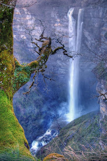 Waterfall, Basque Country, Spain