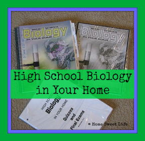 homeschool biology, Charlotte Mason High School Biology
