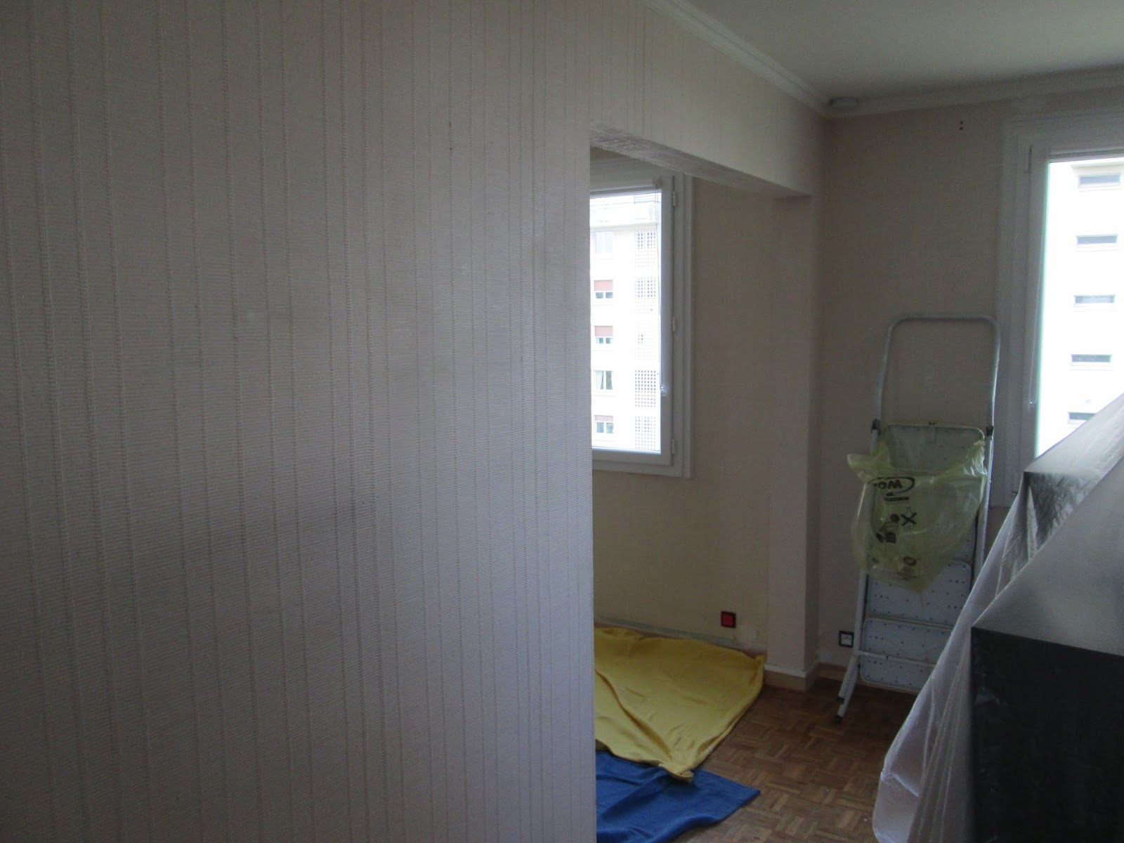 philippe florance multi services d coration salle a manger et couloir. Black Bedroom Furniture Sets. Home Design Ideas
