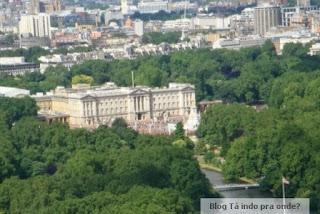 Buckingham visto da London Eye