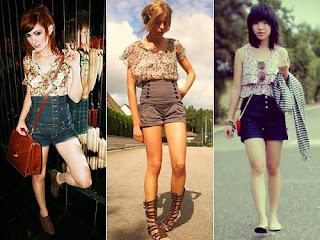 look de shorts