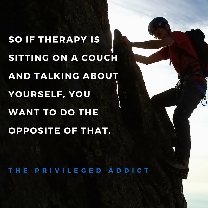 Do the Opposite of Therapy