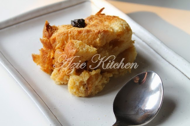 Puding Roti Mudah Dan Sedap Azie Kitchen