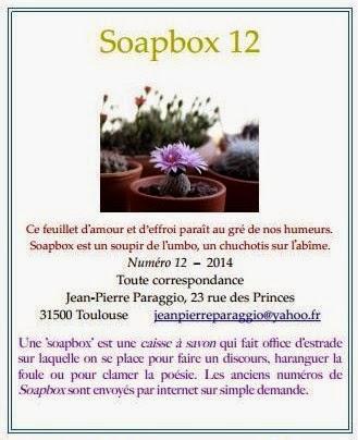 SOAPBOX 12, FEUILLET de L'UMBO, TOULOUSE, FRANCE