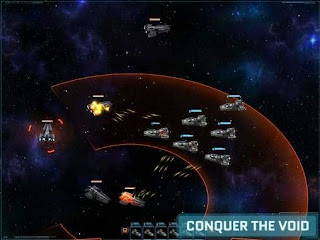 Screenshots of the Vega Conflict for Android tablet, phone.
