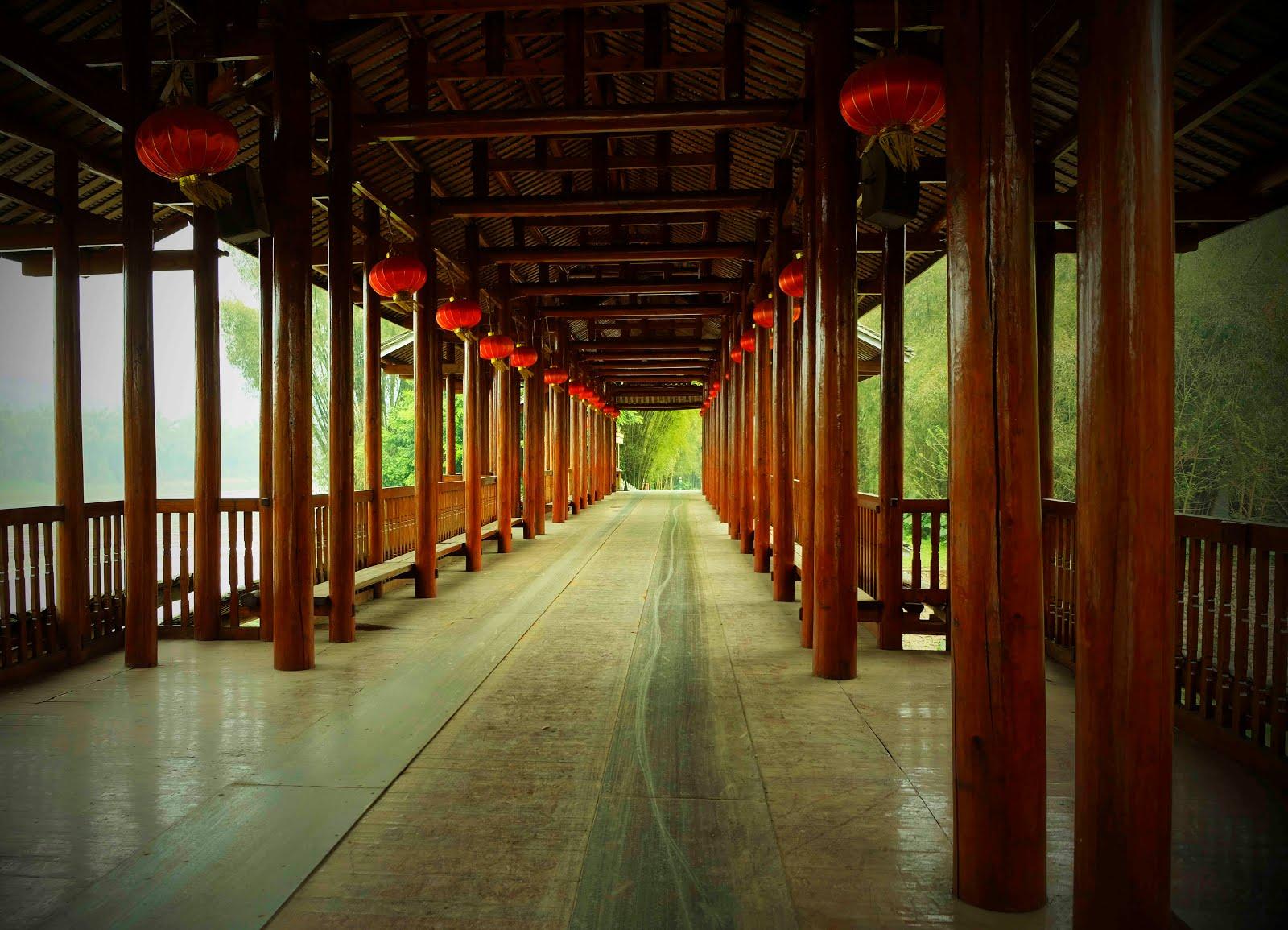 Le pont couvert - Yangshuo