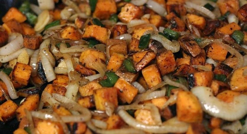 Ham Asparagus and sweet Potato Hash Recipe