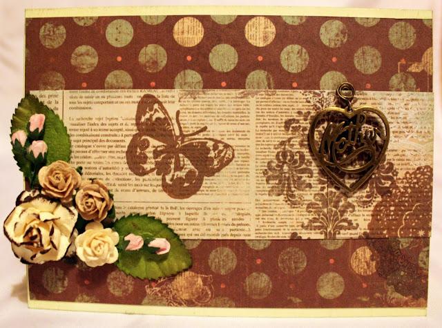 Мои handmade штуки открытка ко дню матери