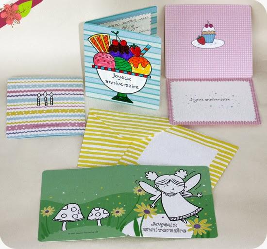"""""""20 cartes d'anniversaire à colorier"""" éditions Usborne"""