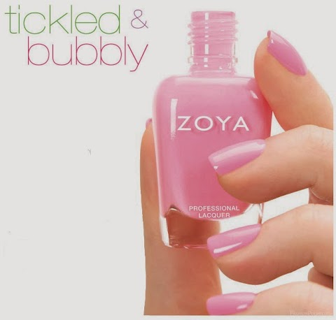 Zoya Tickled and Bubbly Nail Polish Collections for Summer 2014