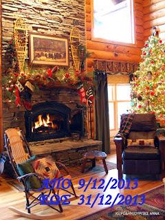χριστουγεννιάτικες γωνιές!!