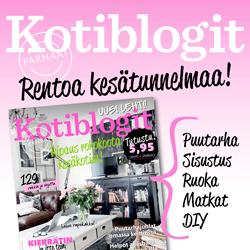 Meidän koti tuoreimmassa Kotiblogit-lehdessä