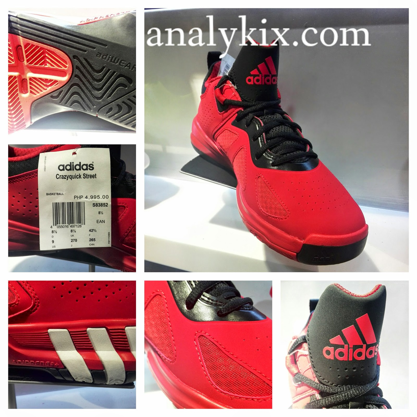 adidas crazyquick straße analykix