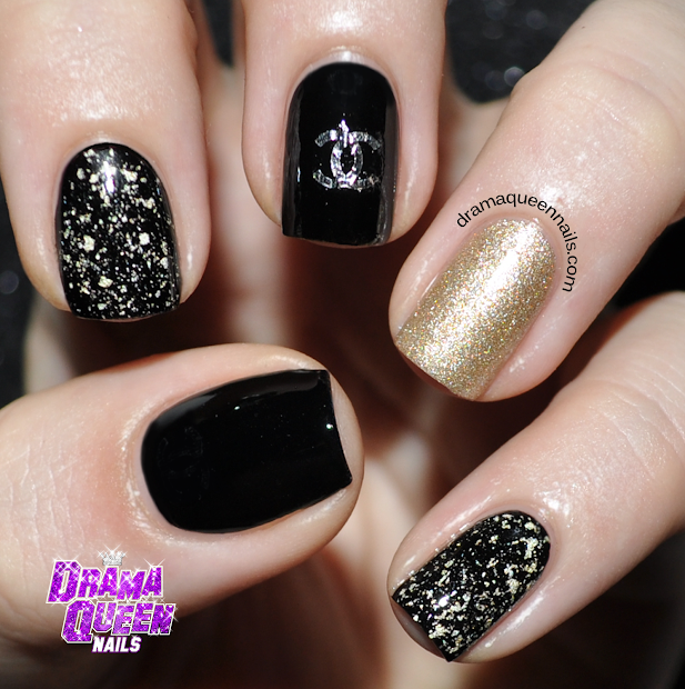 drama queen nails chanel
