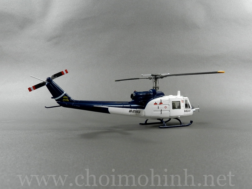 UH-1 Helicopter 1:72 Hobby Master Limited back
