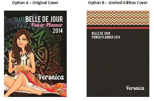 Belle De Jour Power Planner 2014 Customized Cover