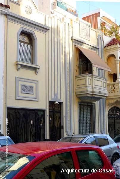 Casa residencial estilo Art Decó restauarada en Buenos Aires
