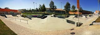 Skatepark in Caldas.