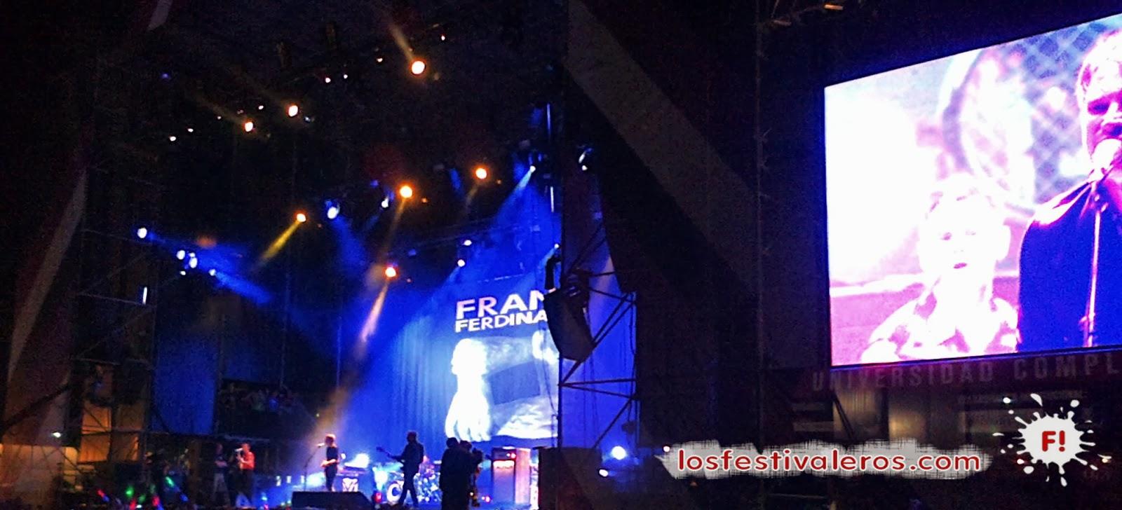 Franz Ferdinand, Bilbao, BBK Live, 2014, Festival, Concierto