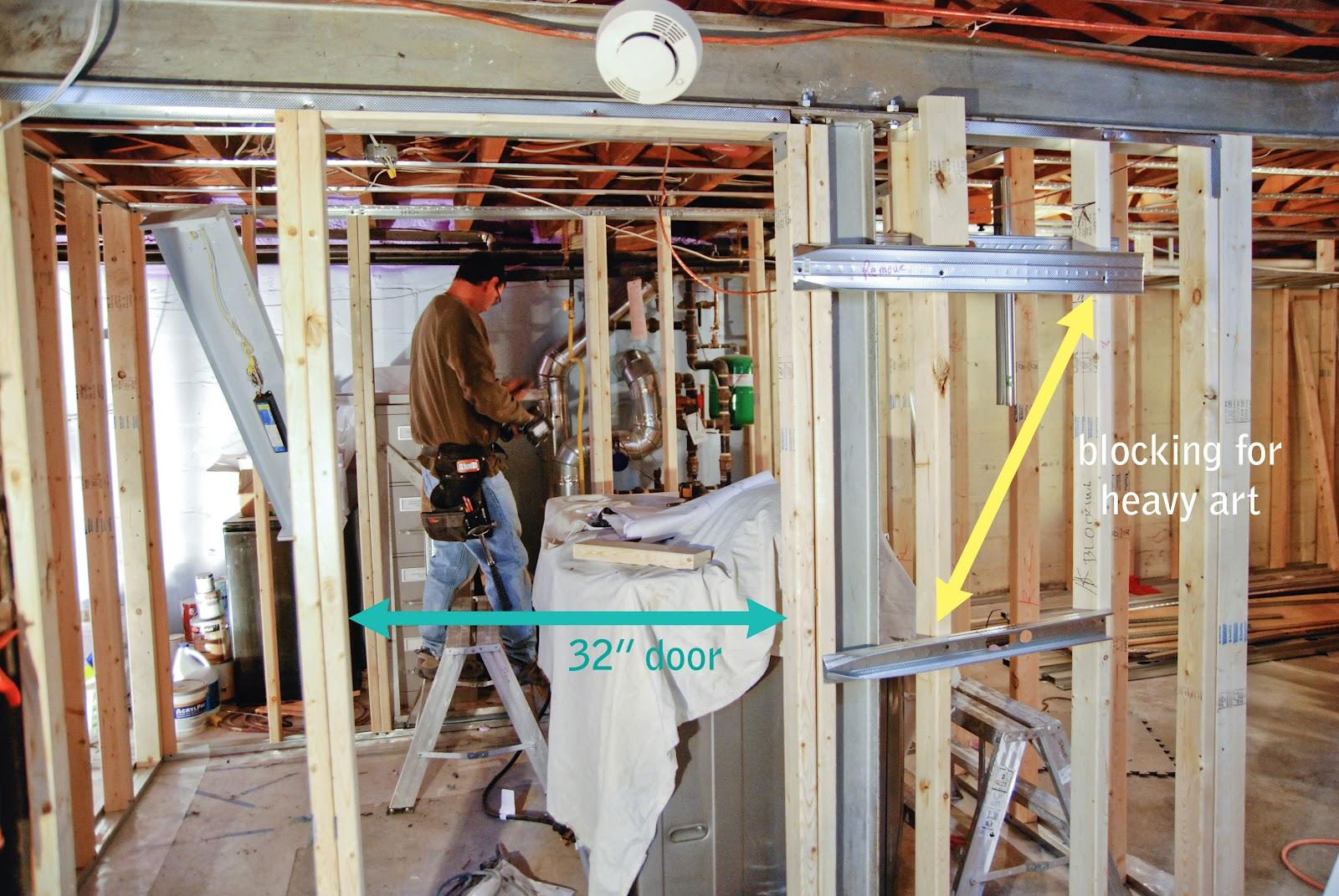 the basement framing frenzy rambling renovators