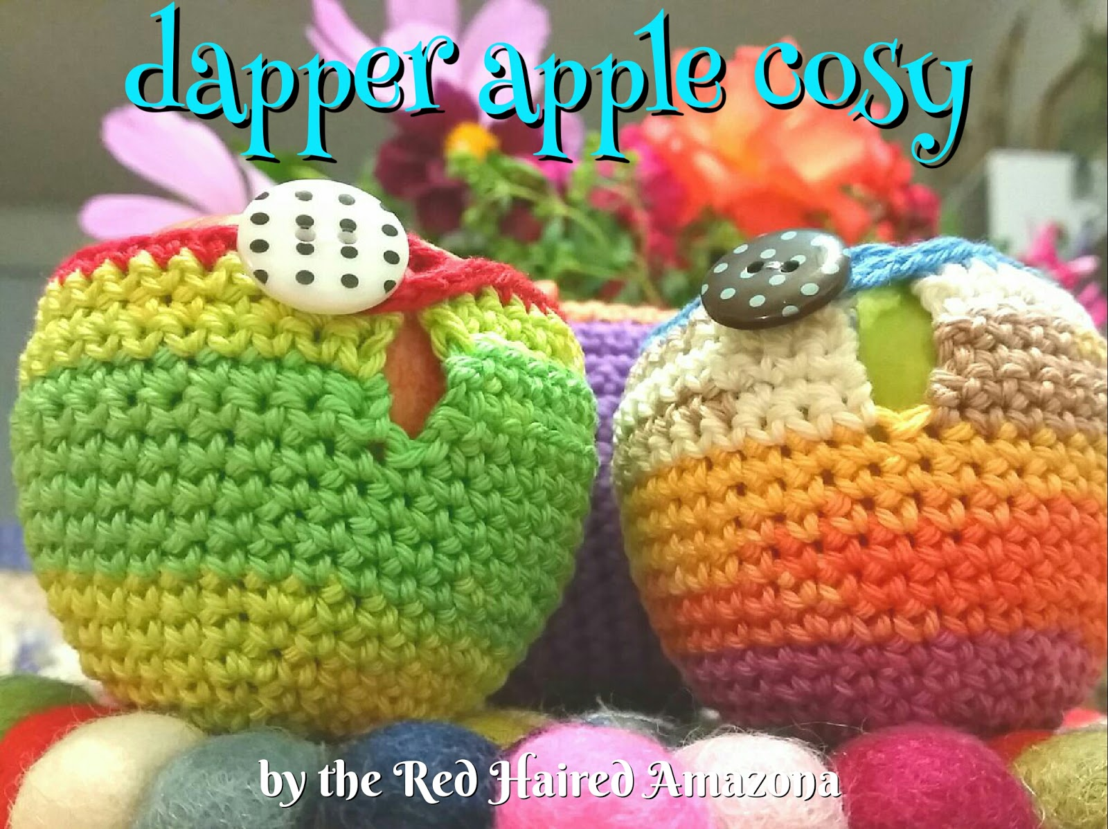 Red Haired Amazona: Dapper Apple Cosy Tutorial