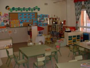 La pandilla infantil los espacios de la clase for Plano aula educacion infantil