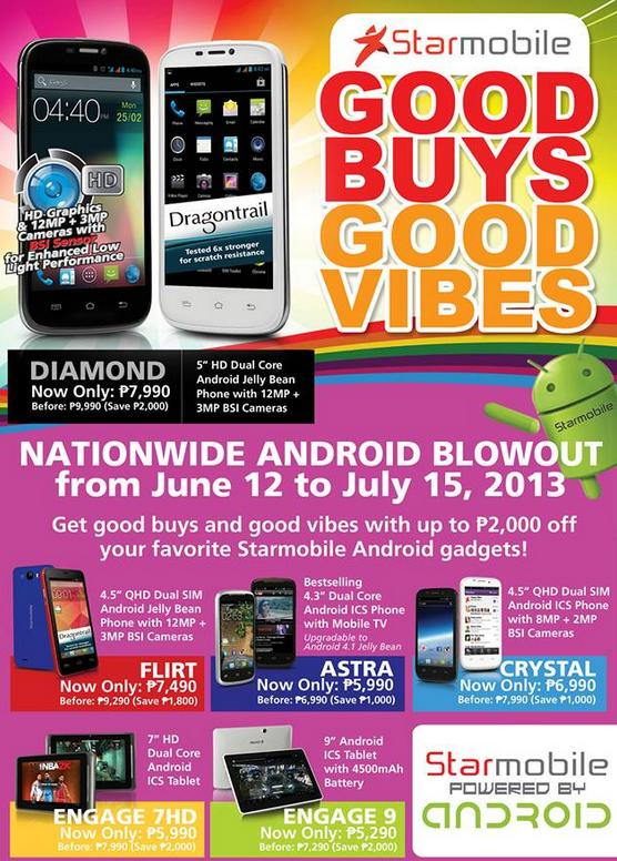 StarMobile Android Phones/Tablets Price Drop Promo - June 2013 : GbSb ...