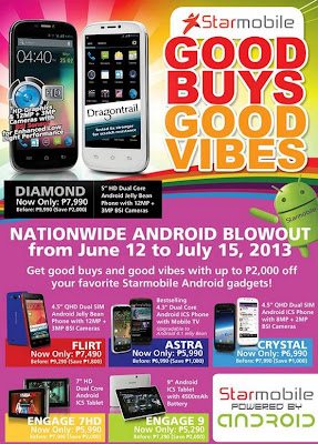 StarMobile Android Phones/Tablets Price Drop Promo - June 2013 : GbSb