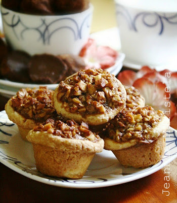 Maple and Almond Nut Tarts