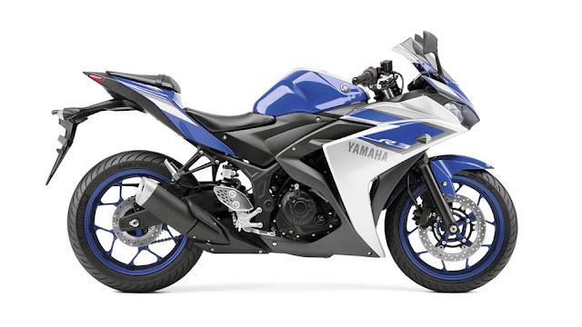 yamaha yzf r3 race blue