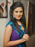 Sri Mukhi latest Photos at Muse Arts Gallery-cover-photo